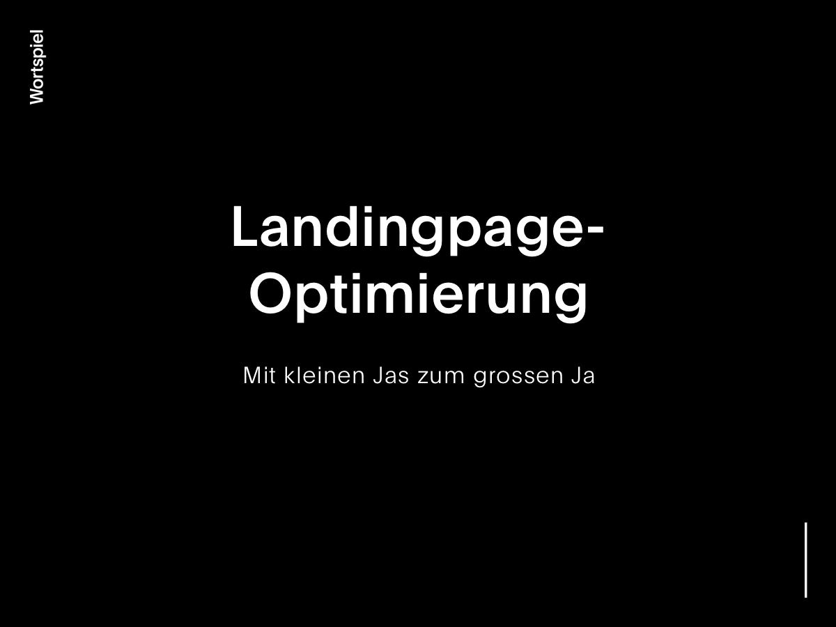 16-Landingpage-Optimierung