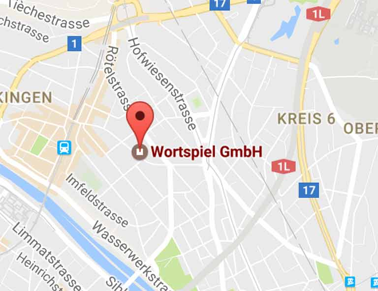Wortspiel GmbH on Google Maps